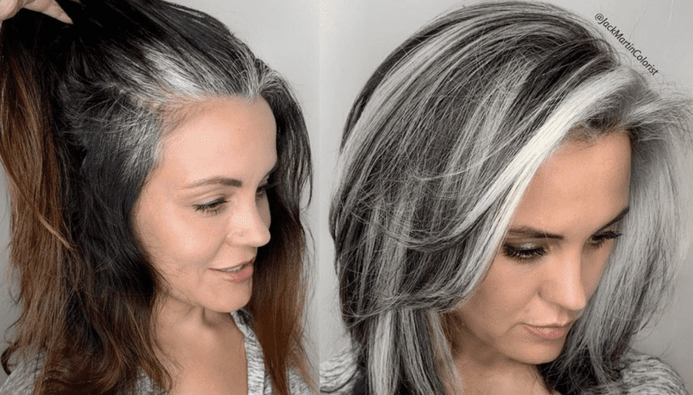 Stylist Encourages Women To Embrace Their Graying Hair With Stunning Results