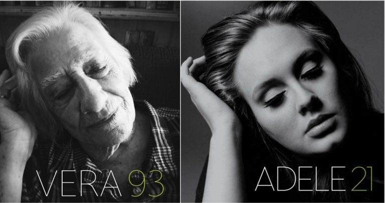 Aged Care Residents Recreate Famous Album Covers & Create Fabulous Results